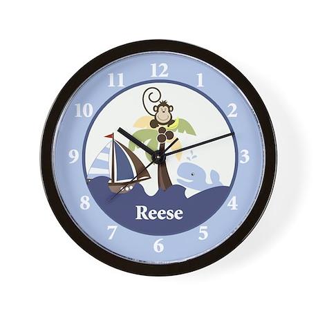 Ahoy Mate Clock - Reese Wall Clock