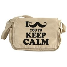 I Mustache You To Carry On Messenger Bag