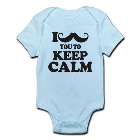 I Mustache You To Carry On Body Suit
