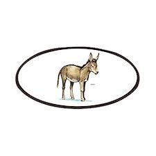 Donkey Animal Patches