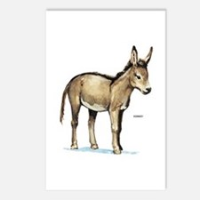 Donkey Animal Postcards (Package of 8)