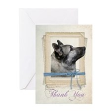 Elkhound Thank You Card
