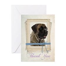 Mastiff Thank You Card