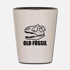 'Old Fossil' Shot Glass