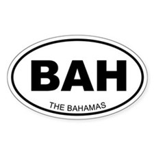 The Bahamas Oval Decal