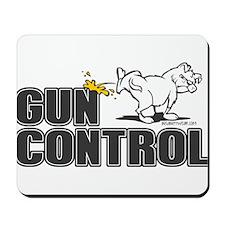 Piss on Gun Control Mousepad