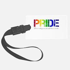 Pride Rainbow Luggage Tag