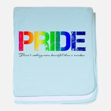 Pride Rainbow baby blanket