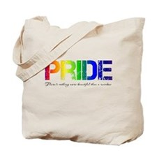 Pride Rainbow Tote Bag
