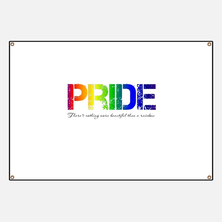 Pride Rainbow Banner