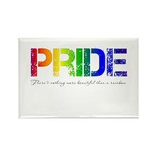 Pride Rainbow Rectangle Magnet