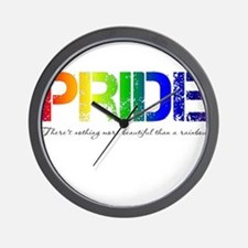 Pride Rainbow Wall Clock