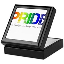 Pride Rainbow Keepsake Box