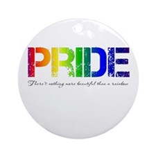 Pride Rainbow Ornament (Round)