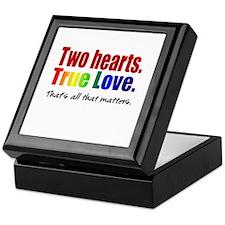 Two Hearts True Love Keepsake Box