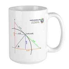 Amazing Unit Circle Ceramic Mugs