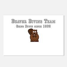 Beaver Diving Team Postcards (Package of 8)