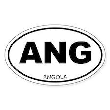 Angola Oval Decal