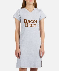 Bacon Bitch Women's Nightshirt