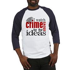 Crime Show Ideas Baseball Jersey