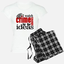 Crime Show Ideas Pajamas