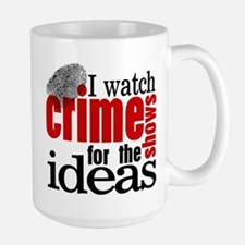 Crime Show Ideas Mug