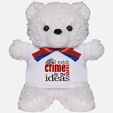 Crime Show Ideas Teddy Bear