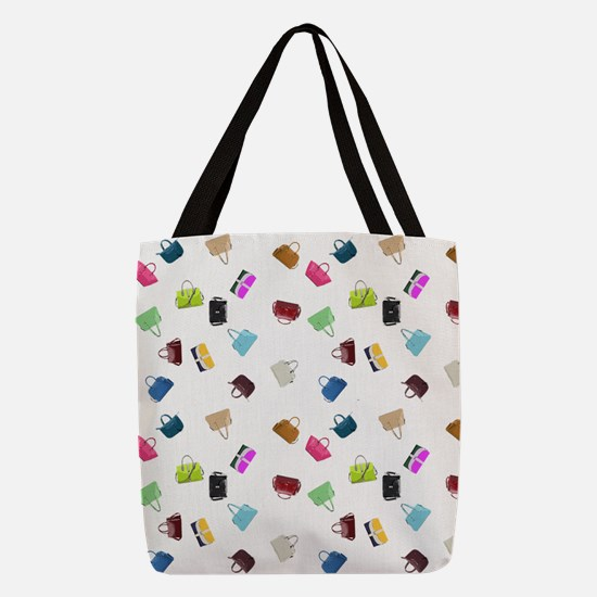 Colorful Handbags Polyester Tote Bag