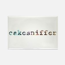 Cakesniffer Rectangle Magnet