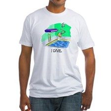Stick Figure Diving Shirt