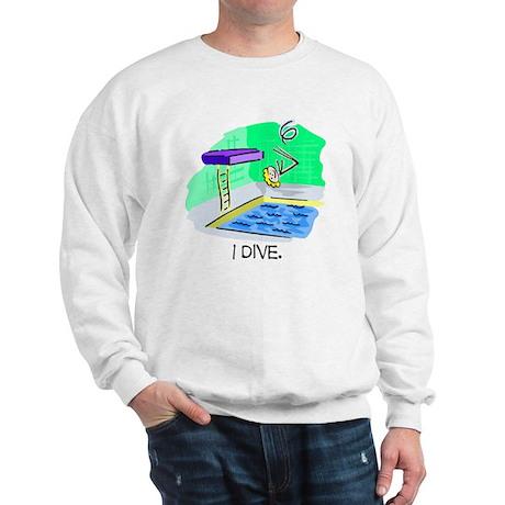 Stick Figure Diving Sweatshirt