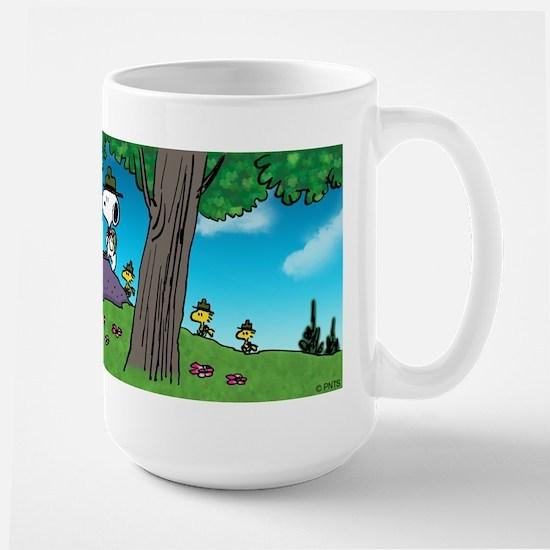 Nature Walk Large Mug