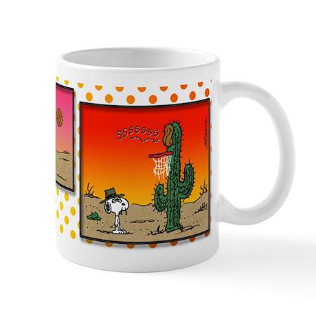 Cactus Basketball Mug