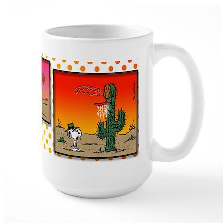 Cactus Basketball Large Mug