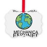Worlds Greatest Mechanical Engineer Ornament