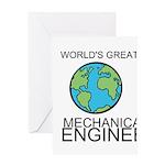 Worlds Greatest Mechanical Engineer Greeting Card