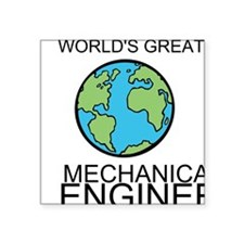 Worlds Greatest Mechanical Engineer Sticker