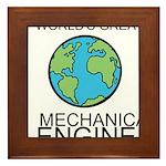 Worlds Greatest Mechanical Engineer Framed Tile