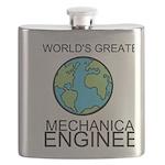 Worlds Greatest Mechanical Engineer Flask