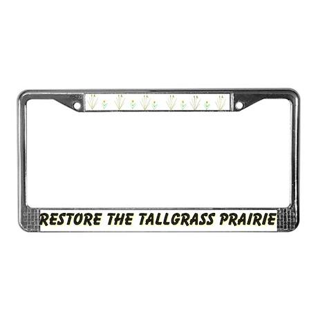Tallgrass Prairie License Plate Frame