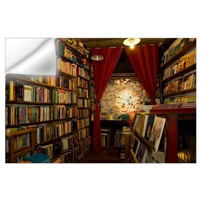Bookstore, Shakespeare And Company, Paris, Ile-De- Wall Decal