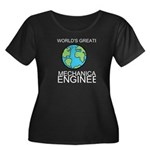 Worlds Greatest Mechanical Engineer Plus Size T-Sh