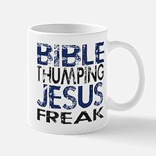 bible thumping Jesus freak Mug
