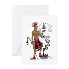Eleggua Greeting Card