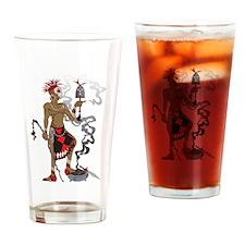 Eleggua Drinking Glass