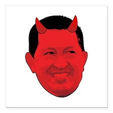 """Chavez Diablo Square Car Magnet 3"""" x 3"""""""