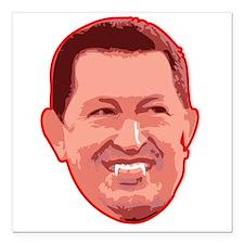 "Chavez Vamp Square Car Magnet 3"" x 3"""