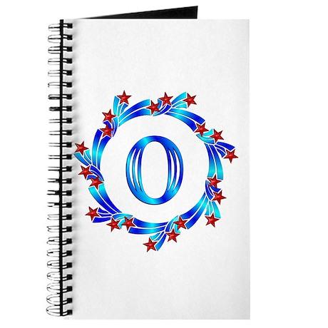 Blue Letter O Monogram Journal By GiftMart