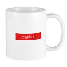 Cariad - Love Small Mug