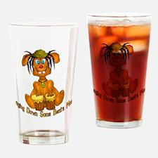 Reggae Rabbit Drinking Glass